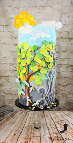 Acts of Green-UNSA 2016 collaboration - Save the Bees - Save the World! by Delicut Cakes