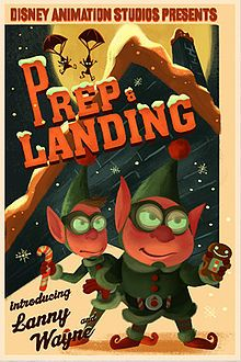 Disney Prep & Landing is a computer animated television special, based on an idea by Chris Williams at Walt Disney Animation Studios and dev. 25 Days Of Christmas, Christmas Shows, Disney Christmas, Christmas Movies, Christmas Art, Christmas Themes, Holiday Ideas, Holiday Movies, Christmas Cartoons