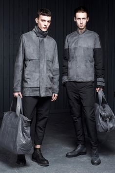 #menswear #fashion #design #alexanderwang #grey #coat #models #ceosmanfashion