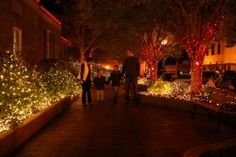 Celebrate the holidays during the Nine Flags Festival in Nacogdoches, Texas!
