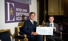 Peter Jones CBE awards young video marketer 'National Entrepreneur of the Year'
