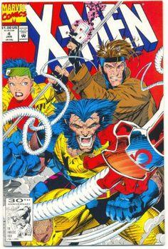 X-Men #4 First Appearance of Omega Red. -- una de las mejores epocas para mi gusto en los X-Men