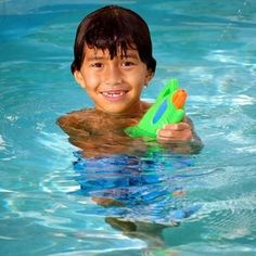 Pools are a great way to keep children cool in those hot summer months.