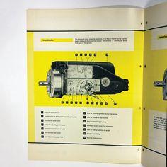 #LadislavSutnar / Marcel Pegard / Boring and Drilling Machines / Sweets Industrial Catalog (Interior) / circa 1950s by objctshop