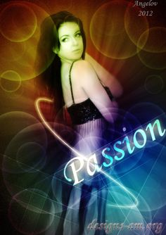 """""""Passion"""" by Angelov. Information about the used stock image can be found here: http://www.designs-am.org/?p=686#"""