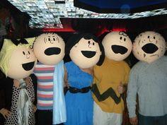 Los personajes de Peanuts