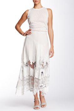 Dreamy Floral Eyelet Skirt by ARATTA on @HauteLook