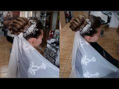 peinados de novia 2016 | peinados de novia paso a paso | HERMOSOS PEINADOS PARA BODA - YouTube