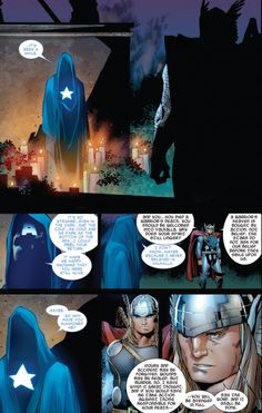 Shortly after the Death of Captain America event, Thor (who was resurrected after Ragnarok) seeks guidance from his former teammate, ally and friend. Marvel Vs, Marvel Memes, Marvel Comics, Captain America Death, Comic Art, Comic Book, Nerd Geek, Marvel Characters, Marvel Cinematic Universe