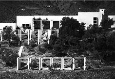 "Bernard Rudofsky | Vivienda del arquitecto. ""La Casa"" | Frigiliana;"