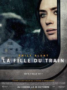 La Fille du train, film de Tate Taylor. Rachel prend le train les jours, durant le trajet, elle fantasme sur la vie d'une couple d'une maison, jusqu'au jour, où elle voit un événement extrêmement choquant , sa vie va basculer