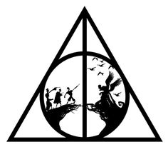 Png Images In Collection - Harry Potter Deathly Hallows Logo, Transparent Png is free transparent png image. To explore more similar hd image on PNGitem. Harry Potter Symbols, Harry Potter Drawings, Harry Potter Art, Harry Potter Fandom, Harry Potter Memes, Tattoo Tod, Hp Tattoo, Get A Tattoo, Harry Potter Silhouette