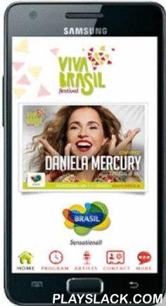 Viva Brasil Festival  Android App - playslack.com , Viva Brasil Festival Amsterdam . This international festival of Brazilian jazz, samba and popular Brazilian music ( MPB )
