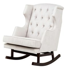 Empire Rocker - for the chic nursery or tres chic family room
