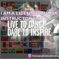 My Zumba intructors inspire me a lot!
