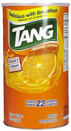 Tang Tang Orange Powdered Drink Mix