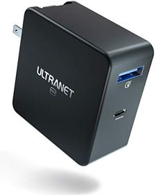 #ULTRANET #65W #2Ports #GaN #USBCCharger Iphone Accessories, Iphone 7 Plus, Laptops, Computers, Charger, Android, Usb, Mini, Laptop