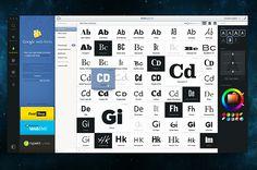 Type app by Claudio Guglieri