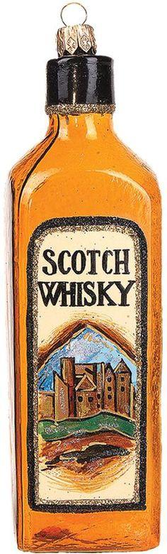 Harrods Brown Whiskey Bottle Decoration #ad