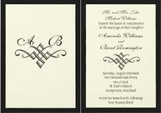 traditional wedding invitations - Google Search