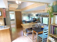 Camper converted into a Tiny House - 300 sq ft