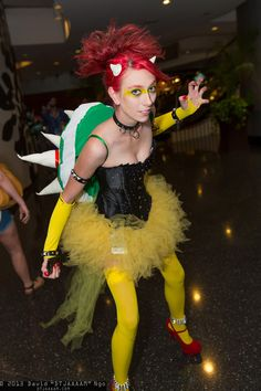 Bowser - Mario | D*Con13---THIS IS ME!! ^_^ #KarrahShea #Dragoncon #Dragoncon2013 #cosplay #DIY #HideYourPrincesses #Bowser #LadyBowser #Mario #Nintendo