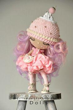 Crochet doll @ Little Inspiring Soul