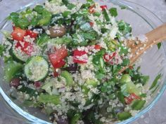 Quinoa Spinach Vegetable Salad - Just Glowing with Health - Raw Food Diet, Natural Recipes, and More!