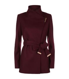 Shop for trendy swimwear, clothing and accessories for women at affordable prices Winter Outfits, Casual Outfits, Ted Baker Fashion, Lightweight Rain Jacket, Purple Coat, Wrap Coat, Coats For Women, What To Wear, Winter Fashion