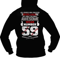 The most awesome #baseball players wear 59, Order HERE ==> https://www.sunfrog.com/Sports/The-most-awesome-baseball-players-wear-59-Hoodie-Black.html?6789, Please tag & share with your friends who would love it , #birthdaygifts #christmasgifts #superbowl