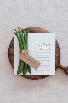 Earthy, rustic-inspired table stationery designed by Seven Swans, perfect for long lazy family-style dinners under the stars and relaxing with the nearest and dearest. Just download the design, print and cut them out - easy as pie! See more here.
