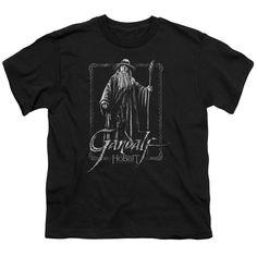 The Hobbit - Gandalf Stare Short Sleeve Youth 18/1