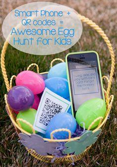 Easter Egg Hunt Clues #Easter #EggHunt