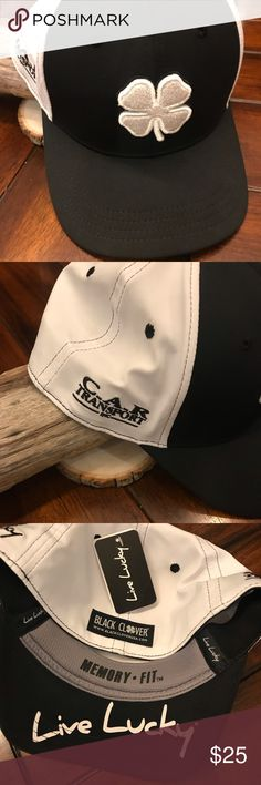 4ecddf9fe52 Live Lucky 🍀 hat L XL Live 🍀Black Clover golf ⛳ hat New