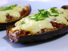 Greek stuffed Eggplant recipe (Melitzanes Papoutsakia) #recipe #comfortfood #lunch #dinner #foodphotography