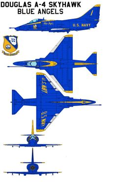 """Lockheed Martin Lightning II Blue Angels The Blue Angels have flown over 10 different aircraft in the team's 65 year history. Originally, the team flew four aircraft in the signature """"Diamond. Military Jets, Military Aircraft, Fighter Aircraft, Fighter Jets, Avion Jet, Us Navy Blue Angels, Angel Flight, Navy Aircraft, F 16"""