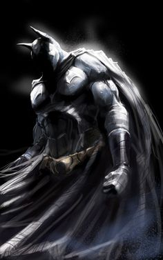 batmansblackrose:  Dark Knight by ~AdoC