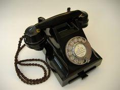 bakelite phone   GRAM HAD THIS PHONE- STATE 53475