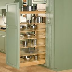 "11""/14"", etc W -  Pullout Wood Pantry"