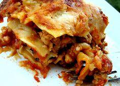 Grilled Zucchini Lasagna.
