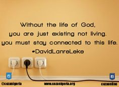 Connect to Jesus #SavedByHisLfe