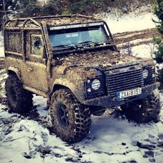 Land Rover Defender in Action