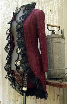 I can see Hataru wearing this, while standing at the bow of Jupitar's Revenge with Levi.   #vintage #pretty