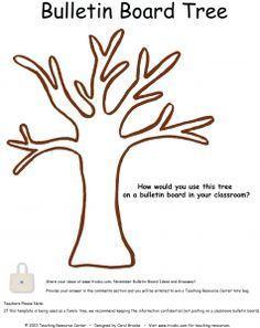tree template for bulletin board faith formation pinterest