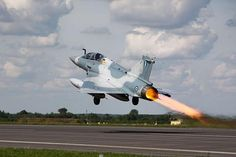 Hellenic Air Force #Mirage 2000 Taking off.