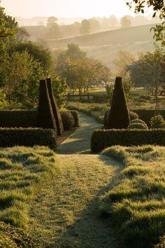 Formal Gardens, Outdoor Gardens, Landscape Design, Garden Design, Landscape Architecture, Parks, Nature Aesthetic, Dream Garden, Big Garden