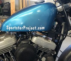 I had originally planned to paint the 1990 Sportster but I got it all put together, running well, the weather is starting to get nicer, and now I just want to take it out and Harley Davidson Sportster, How To Look Pretty, Vinyl Decals, Projects, Log Projects, Blue Prints