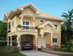 These 2 Story House Collection Features 28 Stunning Beautiful Designs Of  Houses From 2 To 5 Bedrooms.