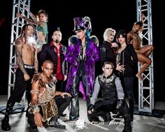 Adam Lambert, Glam Nation band and dancers | Source: Lee Cherry Photography