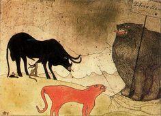 'le concert fête' de Paul Klee (1879-1940, Switzerland)